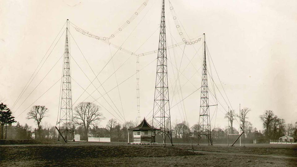 Research radio station c.1929